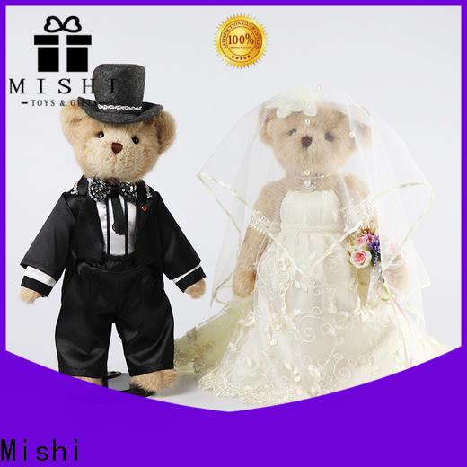 Mishi bull bulk plush toys suppliers for business