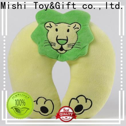 Mishi custom plush pillow manufacturers for sale