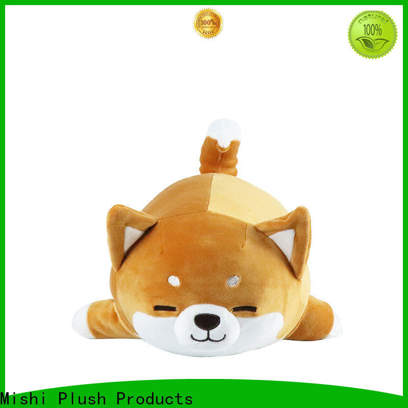 Mishi high-quality funny plush toys with hoodies for sale