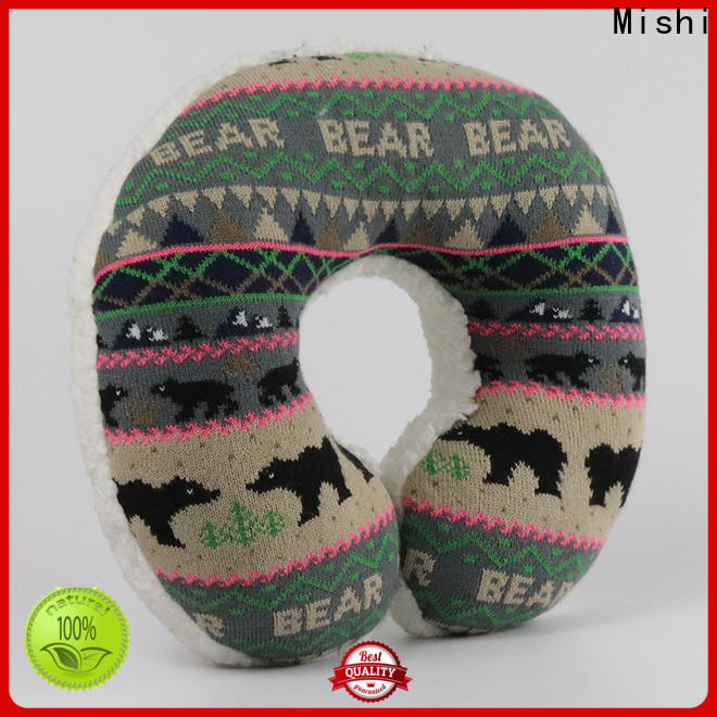 Mishi plush travel pillow company for business