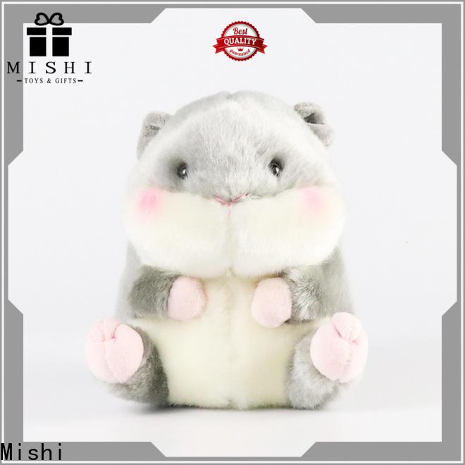 Mishi new plush toys wholesale with custom logo for kids