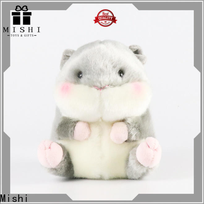 Mishi new plush toys wholesale with custom logo for kids