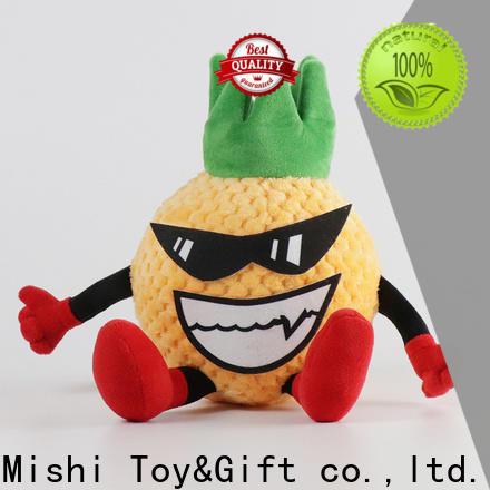 Mishi unique plush toys with custom logo for sale
