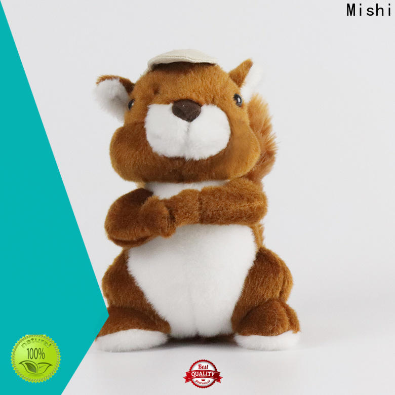 Mishi unique plush toys with t shirts for gifts