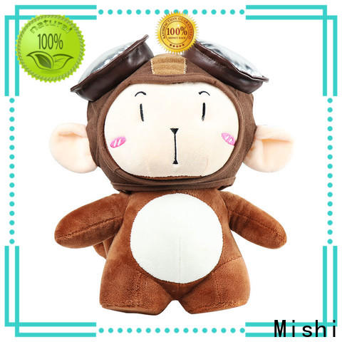 Mishi plush toys wholesale with hoodies for sale