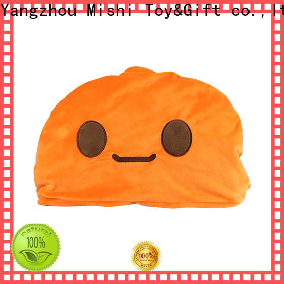 Mishi best plush blanket with logo for business