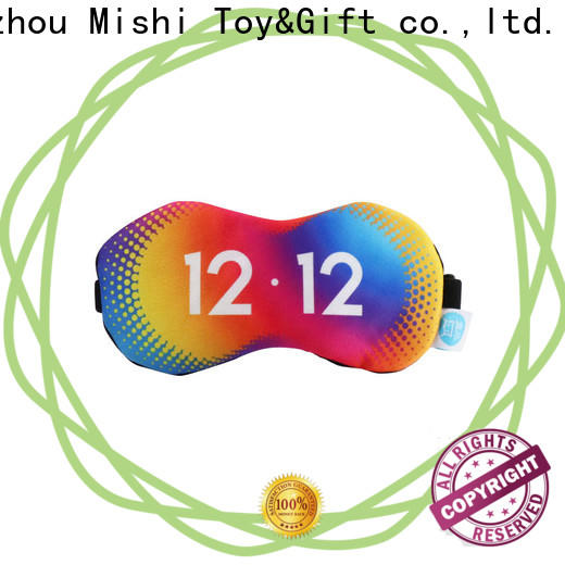 Mishi high-quality personalised eye mask with logo for sleeping