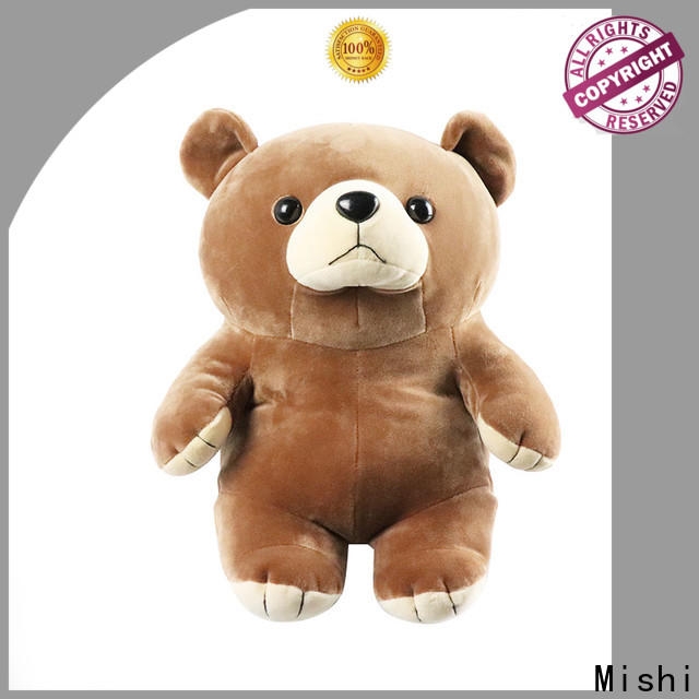 Mishi best plush toys suppliers for gifts