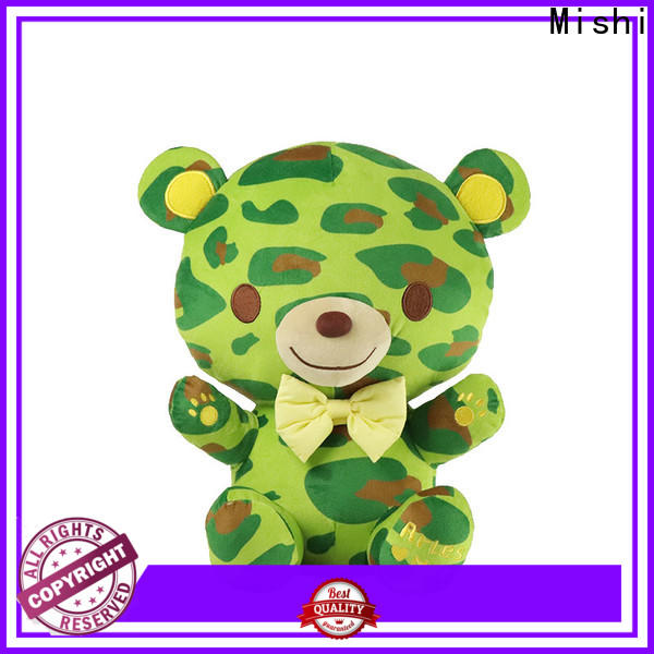 Mishi high-quality custom plush toys factory for kids