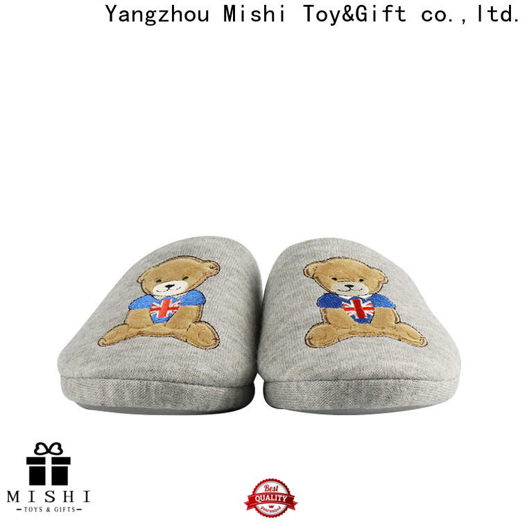 Mishi fast delivery plush slipper company for home