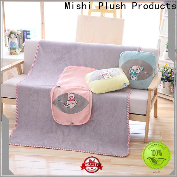 Mishi super soft plush blanket factory for living room
