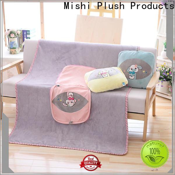 Mishi super soft plush blanket factory for living room
