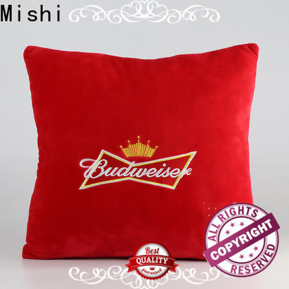 Mishi custom plush cushion company for home