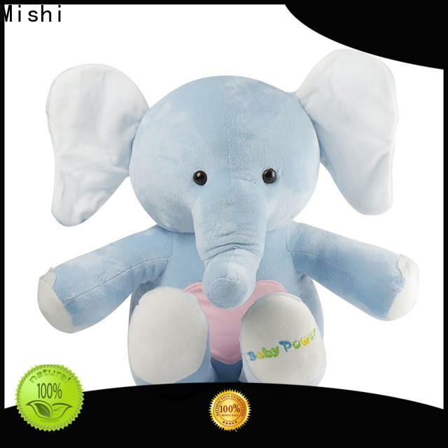 Mishi personalized plush toys with t shirts for business