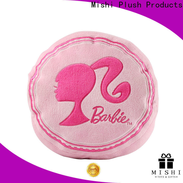 Mishi plush cushion manufacturers for presents