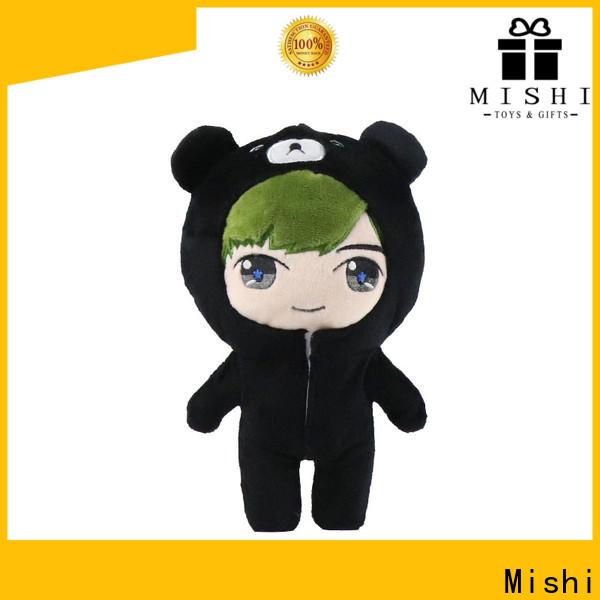 Mishi corgi custom plush toys manufacturers for presents