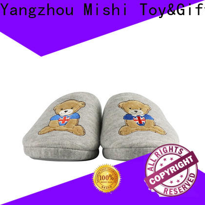 Mishi indoor custom plush slipper factory for business