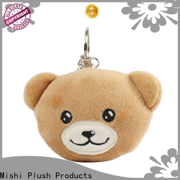Mishi plush toy keychain company for business