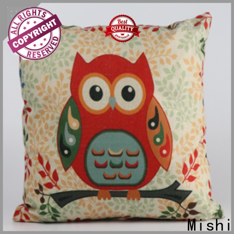 Mishi custom plush cushion supply for gifts