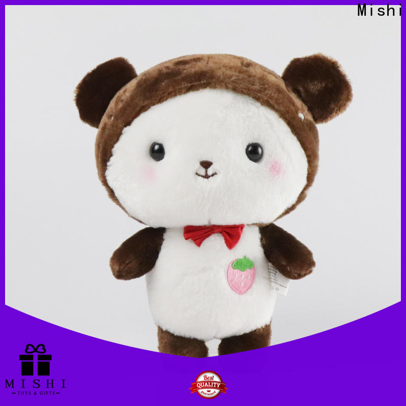 Mishi cute plush toys suppliers for gifts
