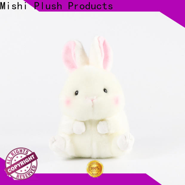 Mishi unique plush toys with custom logo for kids