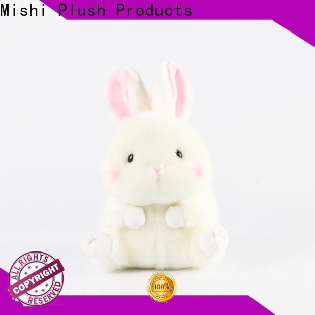 Mishi unique plush toys with custom logo for kids