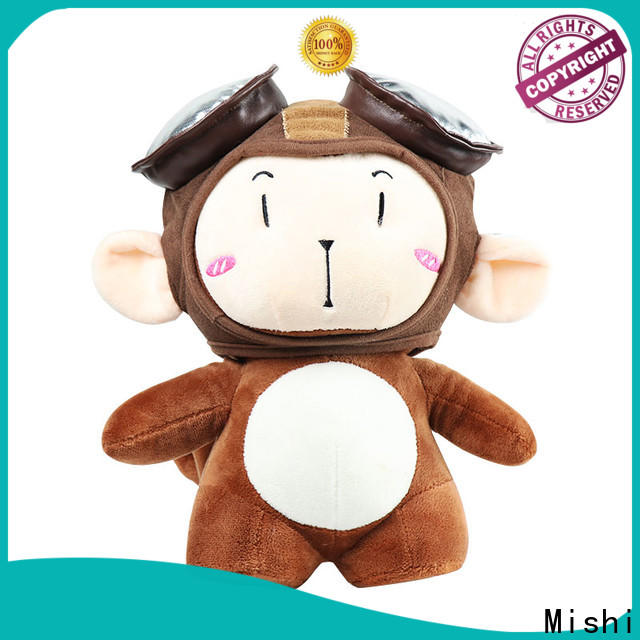 Mishi hippo custom plush toy factory for presents