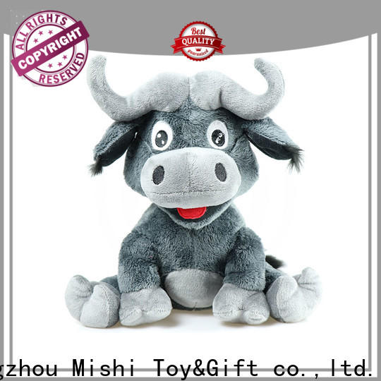 bull custom plush toy with t shirts for sale