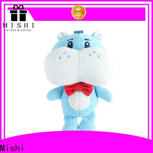 Mishi bull cheap plush toys with hoodies for business