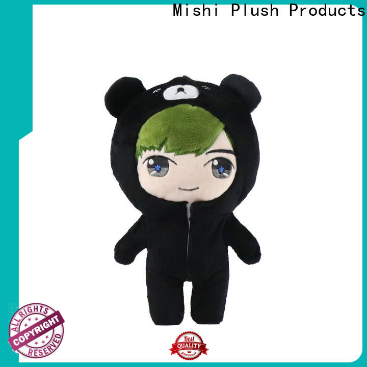 Mishi new best plush toys factory for sale