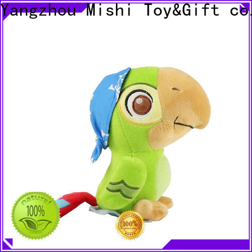 Mishi custom plush toys with t shirts for business