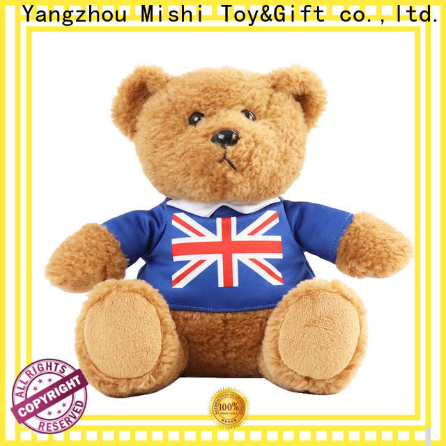 Mishi new plush toys wholesale with custom logo for gifts