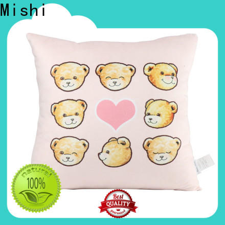 printed plush cushion covers factory for living room