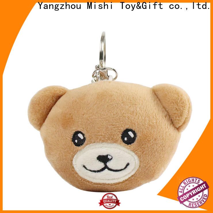 Mishi wholesale plush toy keyring factory for sale