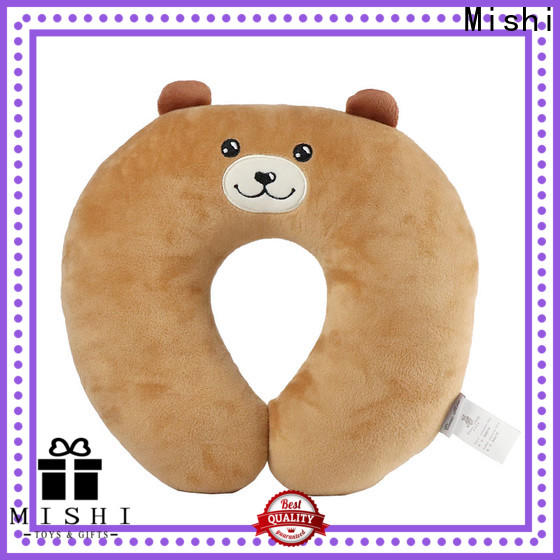 high-quality plush neck pillow company for business
