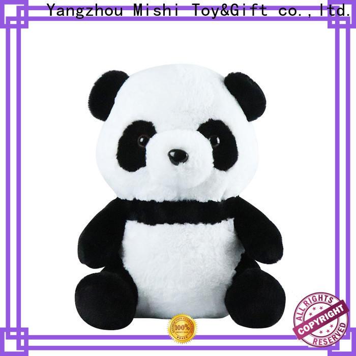 Mishi bull cheap plush toys company for business