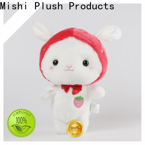 Mishi soft plush toys with t shirts for kids