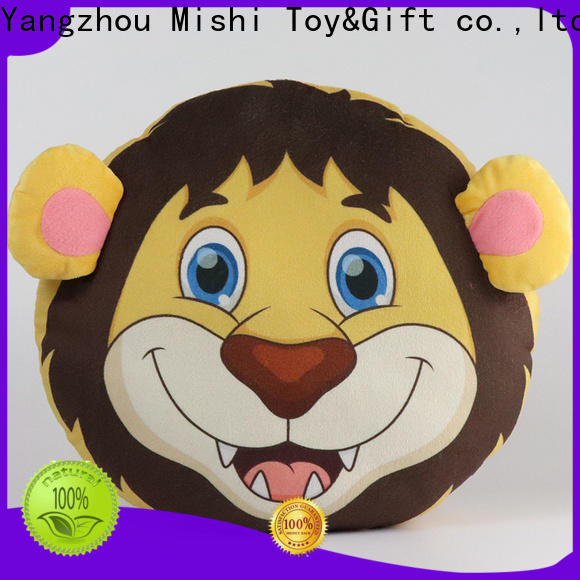 Mishi high-quality custom plush cushion factory for gifts