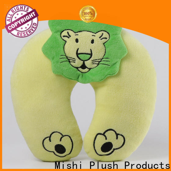 Mishi custom plush pillow factory for gifts