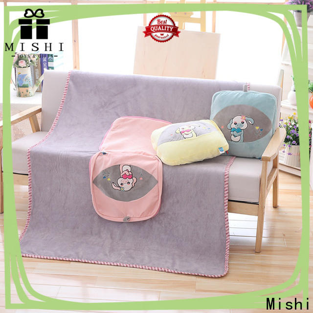 wholesale best plush blanket factory for gifts