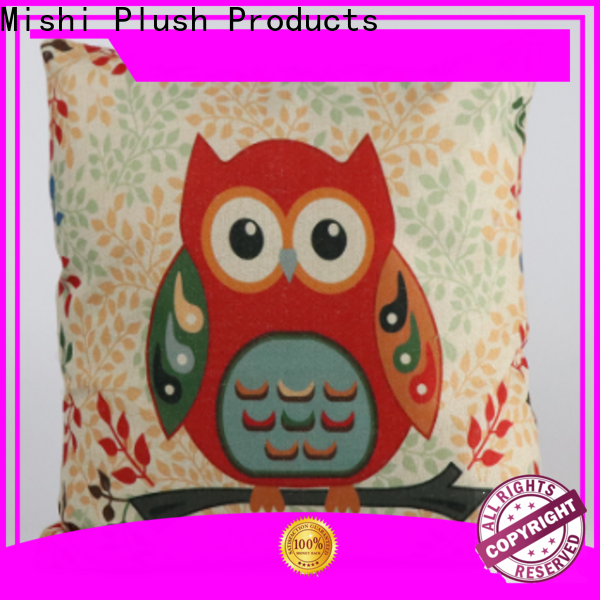 Mishi plush cushion covers suppliers for gifts