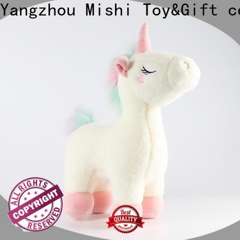 Mishi bull bulk plush toys factory for gifts