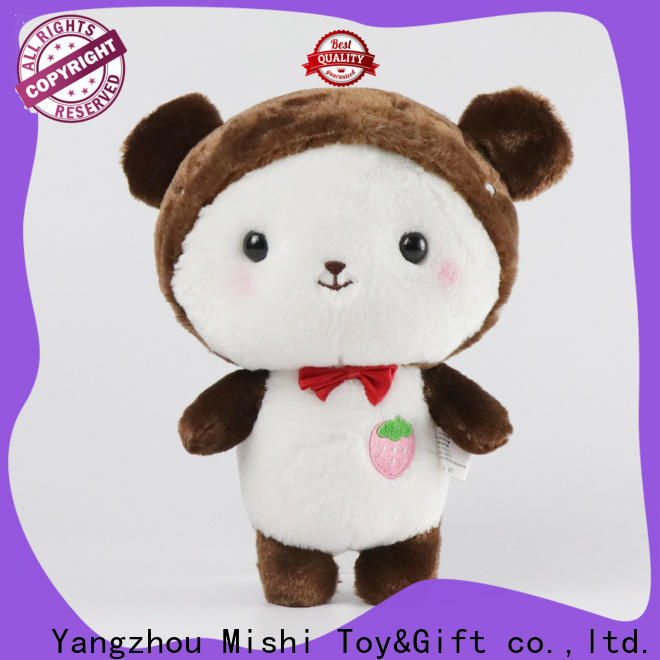 Mishi new plush toys factory for kids