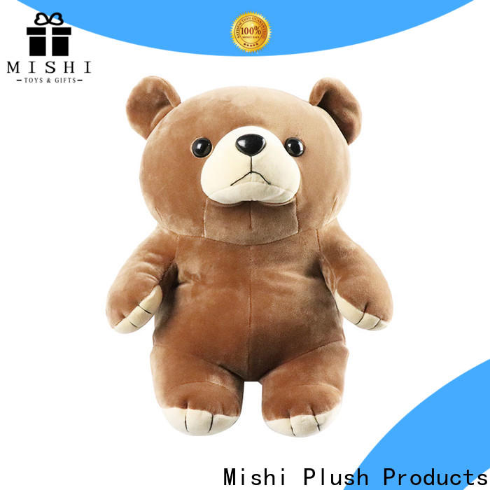 Mishi cute plush toys with hoodies for presents