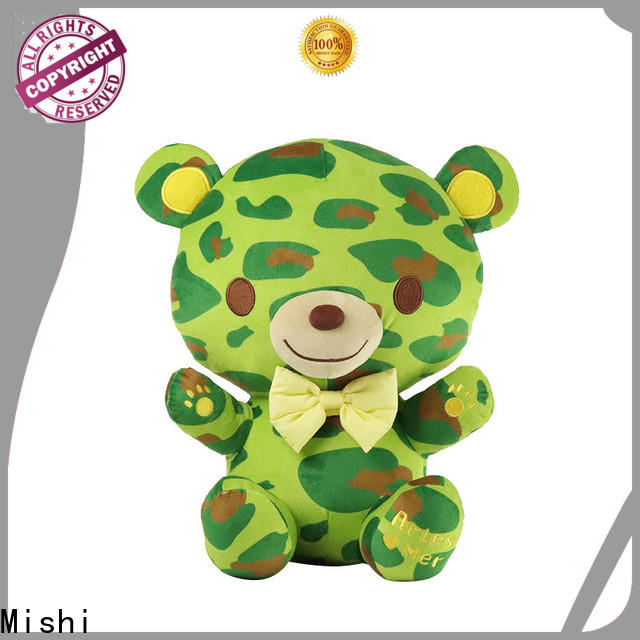 Mishi best plush toy with hoodies for kids