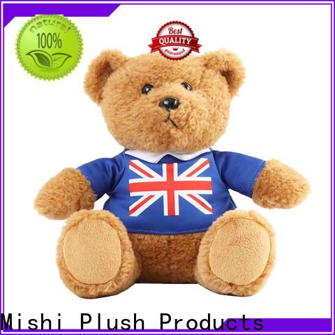Mishi latest plush toys supply for kids