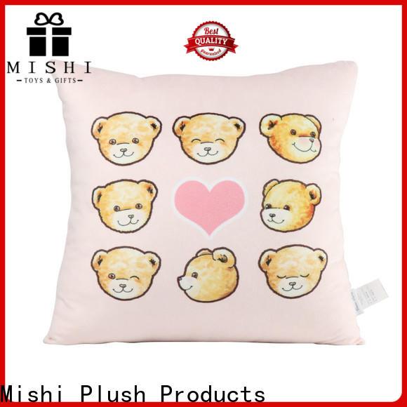 Mishi plush cushion hand warmer for living room
