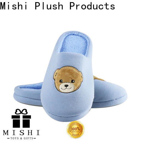 Mishi best plush slippers factory for gifts