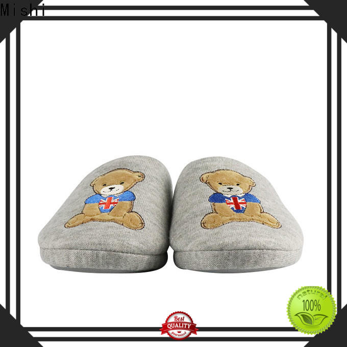high-quality plush slipper factory for business