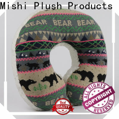 Mishi plush travel pillow company for gifts
